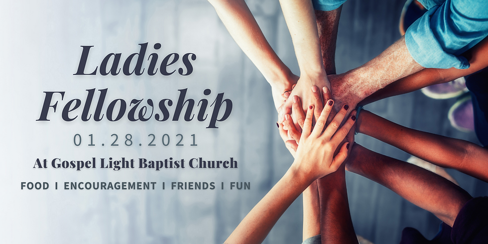 January Ladies Fellowship