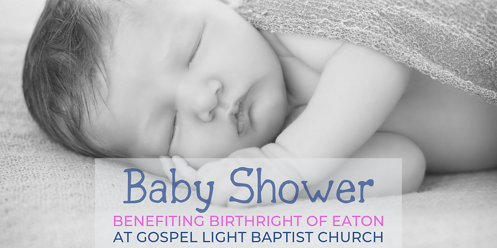 Birthright Baby Shower