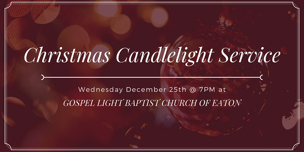 Candlelight Christmas Service
