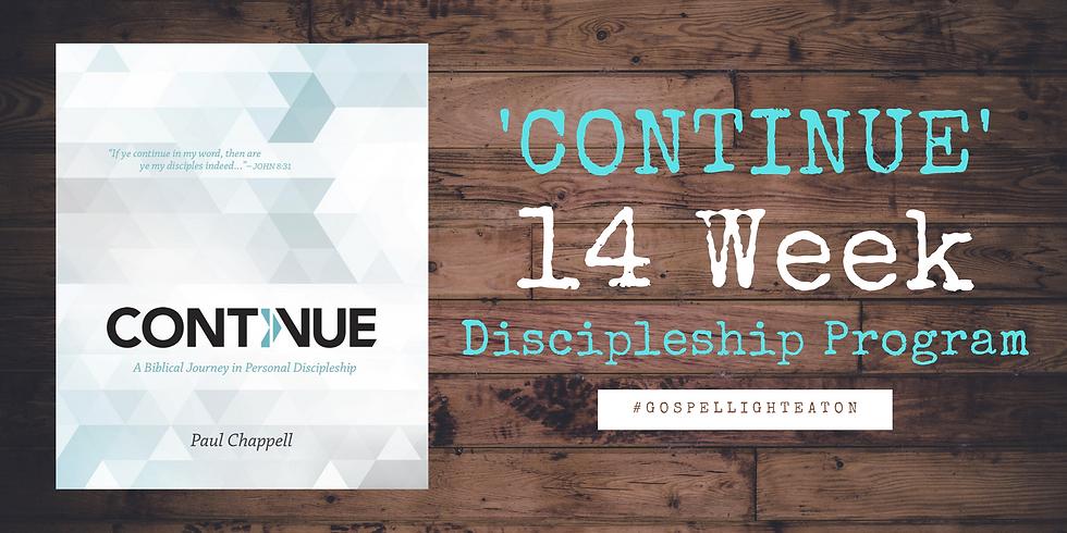Continue Discipleship Program