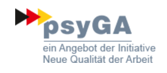 psyGA -  Gesunde Mitarbeiter - gesundes Unternehmen