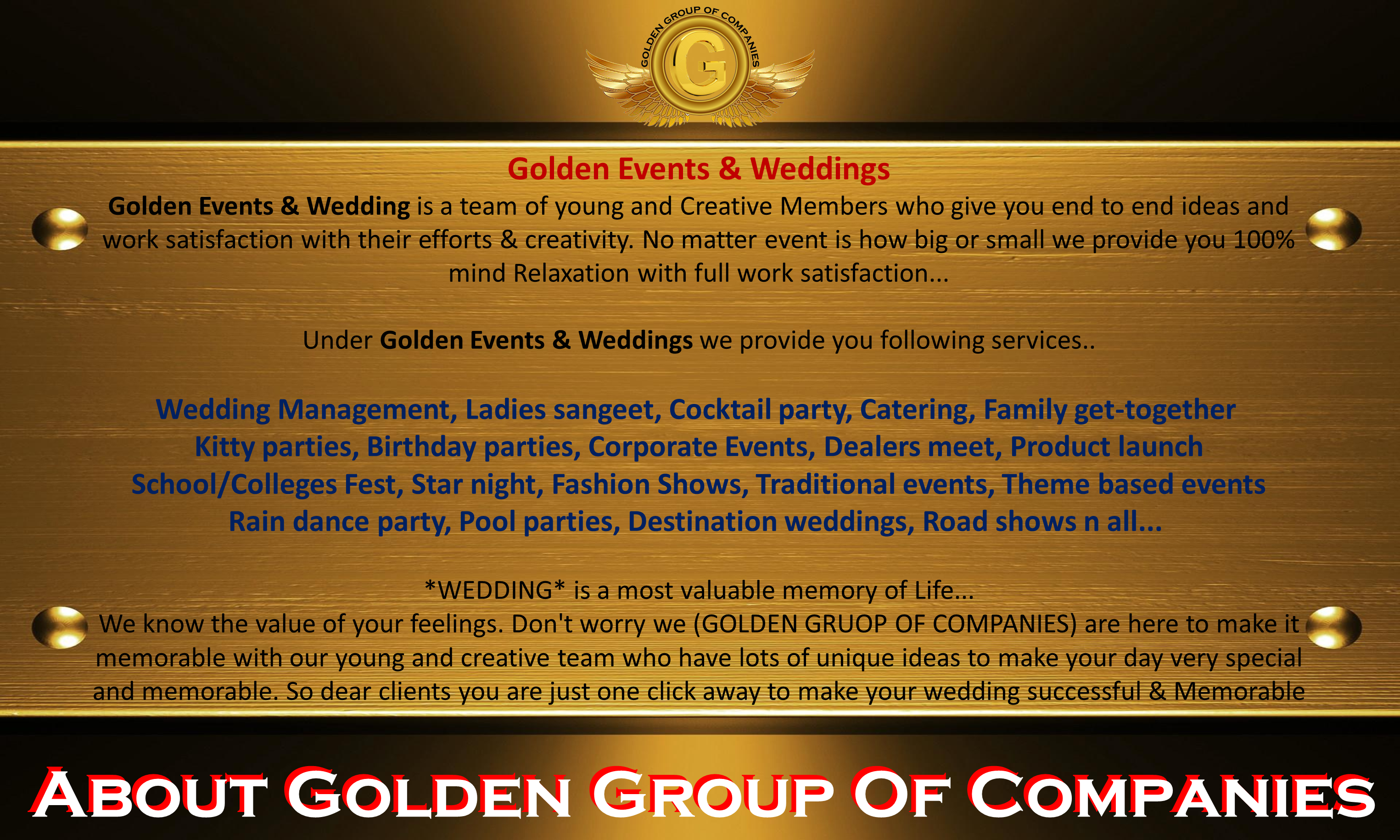 Home | goldengroupofcompanies