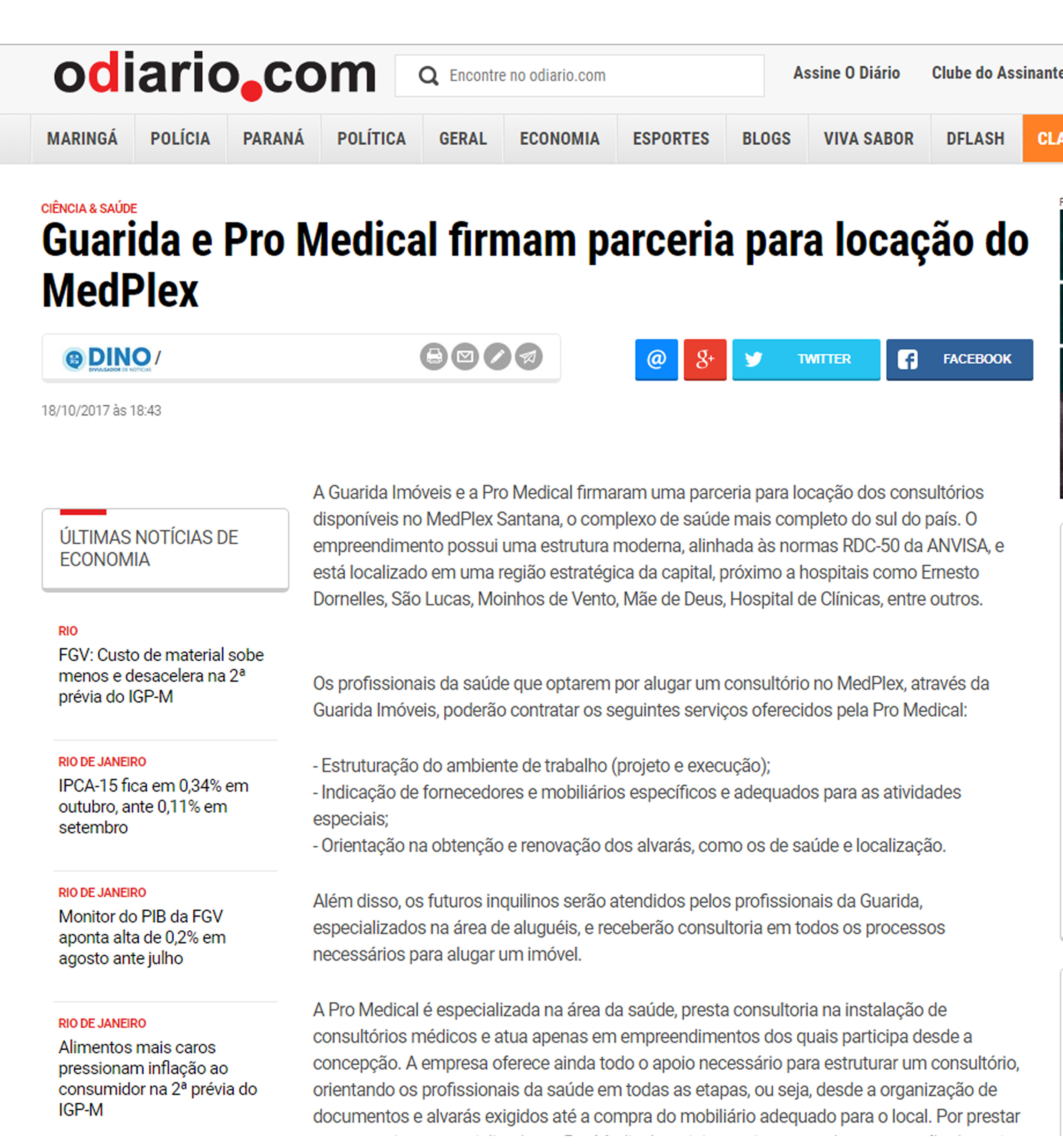 Guarida e Pro Medical