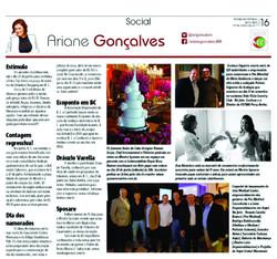 Coluna Social Ariane Gonçalves
