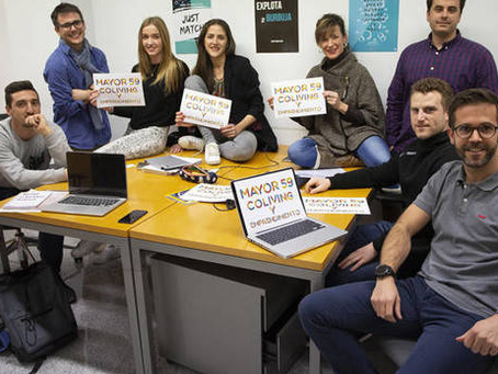 9 proyectos de emprendedores están en marcha en el 'coliving' municipal