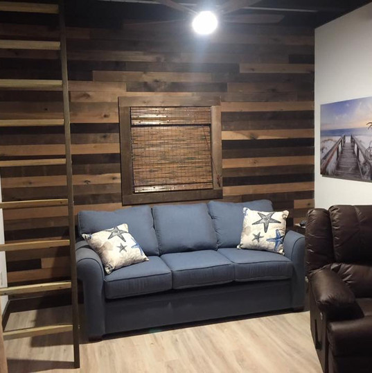 Custom Wood Pallet Wall