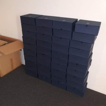40 Boxes Donated by Yansy Campos for 40 Survivors 40 Days