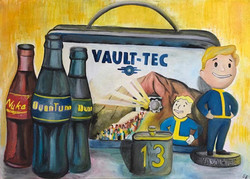 Fallout Stillleben