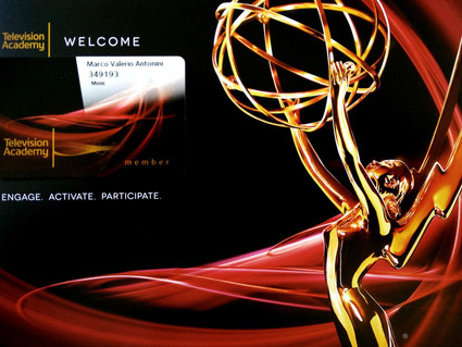 Accepted as Voting Member for the Emmys!
