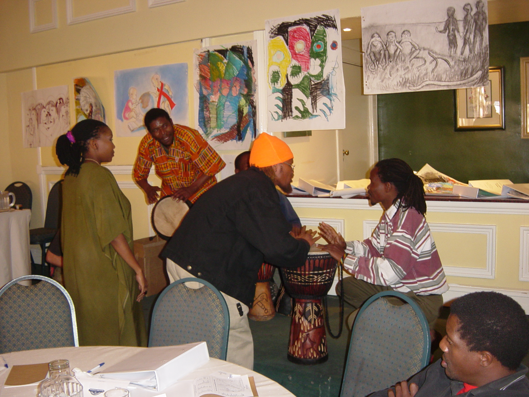 Leading Southern African Musicians & Painters creating a new narrative embracing PLHWAs