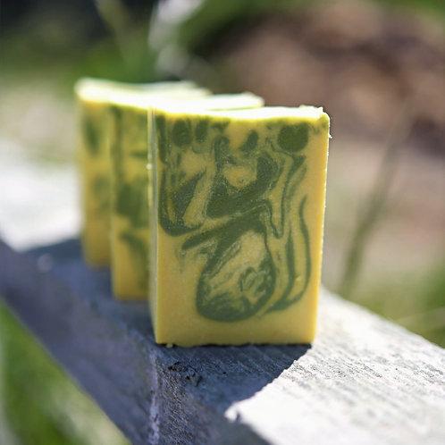 Pineapple Cilantro Goat Milk Soap
