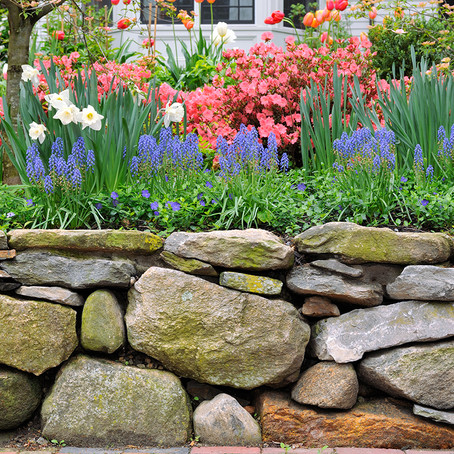 Building Rock Walls A Few Things to Consider
