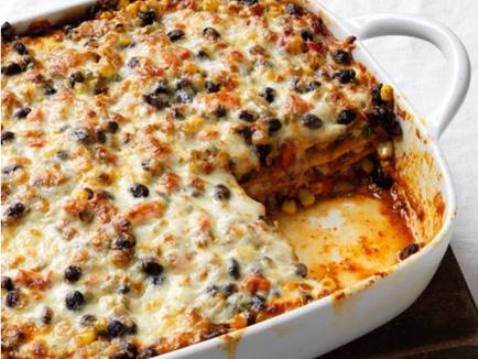 Vegan Bean Lasagne