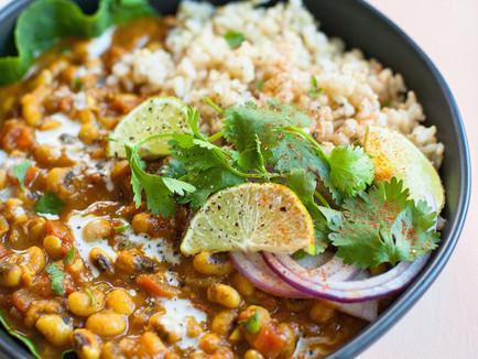 Vegan Black-eyed Pea Curry