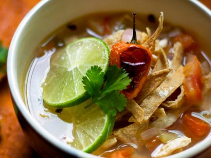 Vegan Lime Soup