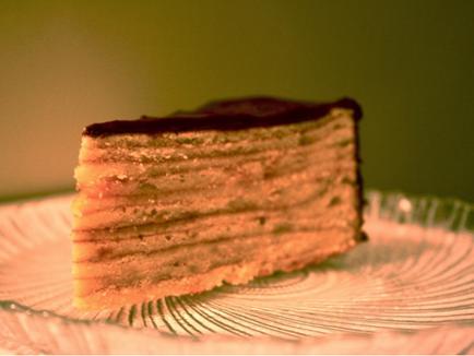 Vegetarian Tree Cake (Baumkuchen)