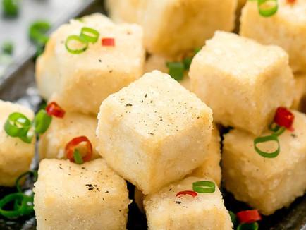 Vegan Chinese Salt and Pepper Tofu