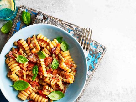 Vegan Creamy Italian Pasta Salad