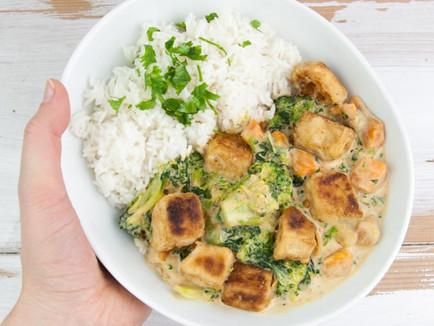 Vegan Tofu in Coconut