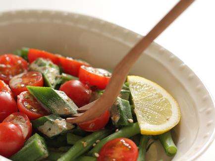 Okra-Tomato Salad