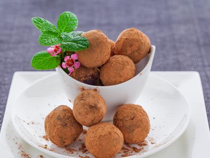 Vegan Tiramisu Truffles