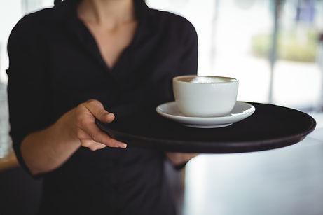 Koffie bij Ko Sing - Chinees Indisch restaurant Ko Sing