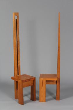 3 legged dining chairs