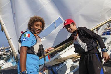 Corso vela bambini a Capri - Yacht Club