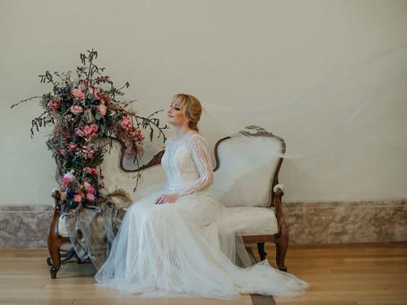 Elegantna vintage poroka v Radovljici
