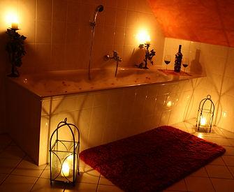 Romantisches Bad