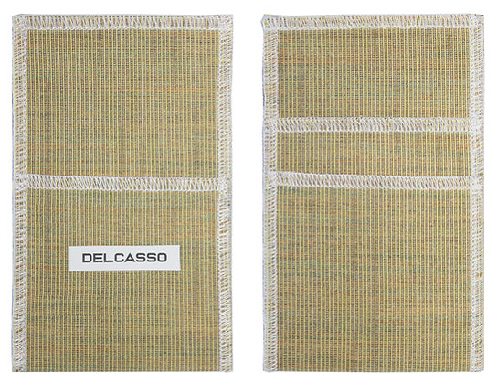 Delcasso porte-cartes lin
