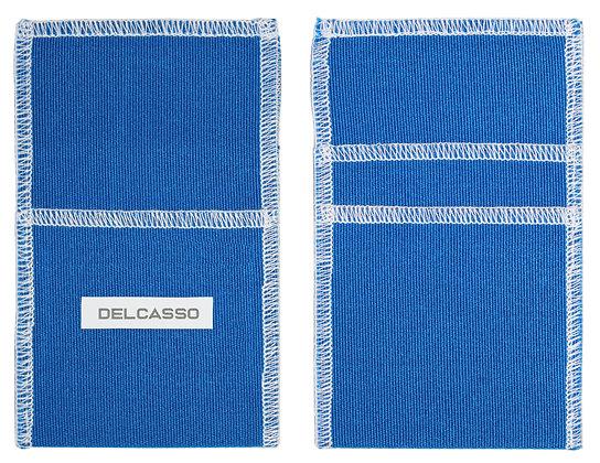 Delcasso porte-cartes bleu