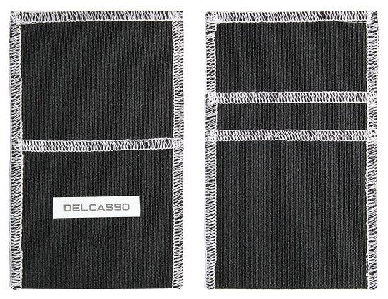 Delcasso porte-cartes noir