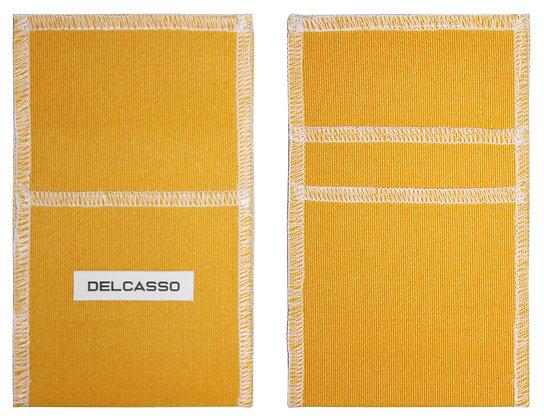 Delcasso porte-cartes jaune