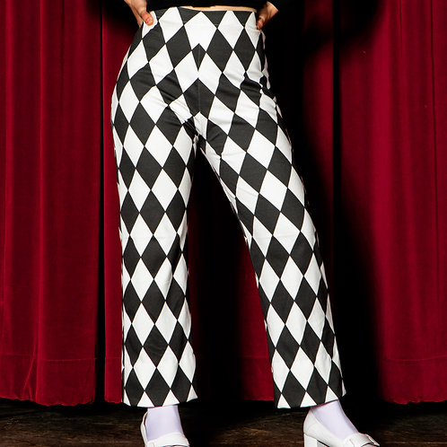 KATE Harlequin Flare Pants