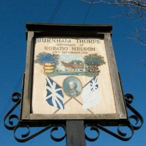 Burnham Thorpe Village Sign
