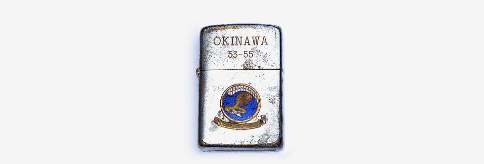 50's 韓戰美軍第十二航空兵倉庫小組打火機