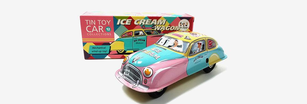 Saint John 鐵皮玩具 - 冰淇淋車