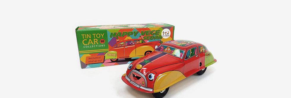 Saint John 鐵皮玩具 - 快樂蔬菜車