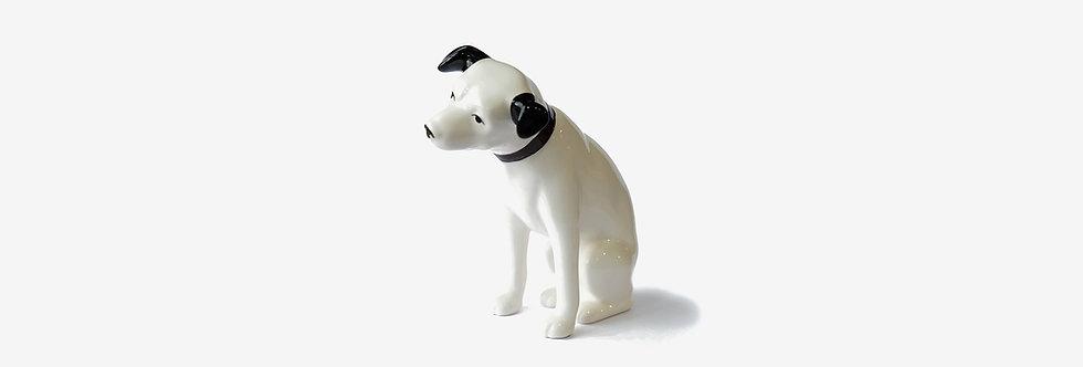 Victor 日本 Nipper 陶瓷勝利犬擺飾