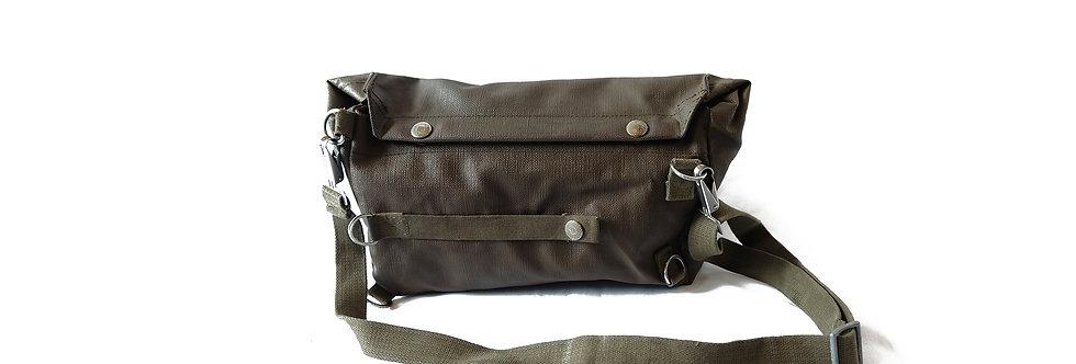 [Vintage] 瑞士陸軍牛津布單肩包