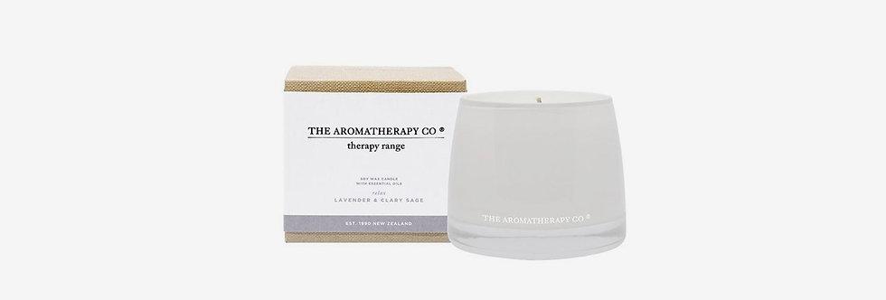 The Aromatherapy Co. 放鬆身心蠟燭 - 鼠尾薰衣草