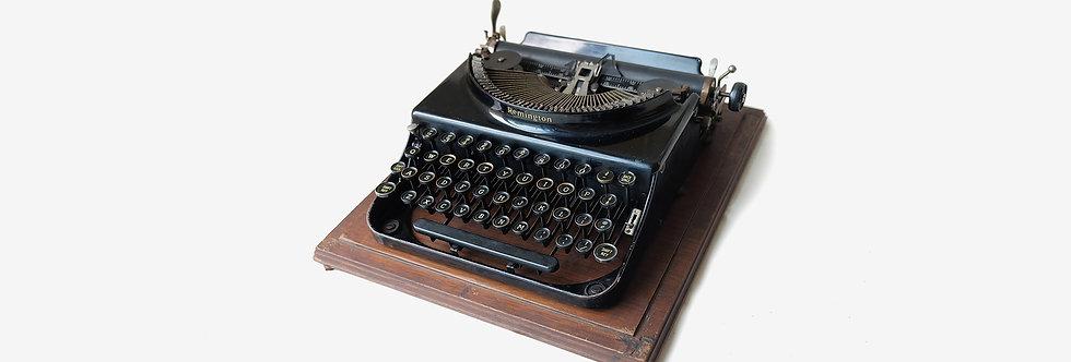 美國Remington外攜式古董打字機