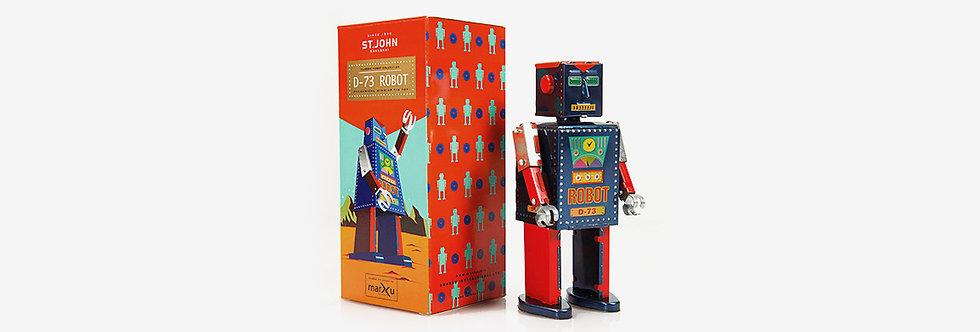 Saint John 鐵皮玩具 - D-73機器人