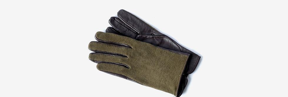 80's 法國軍用羊毛/皮革手套