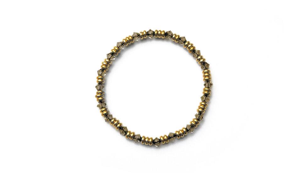 Chado Rhinestone Bracelet [茶道水鑽珠串]
