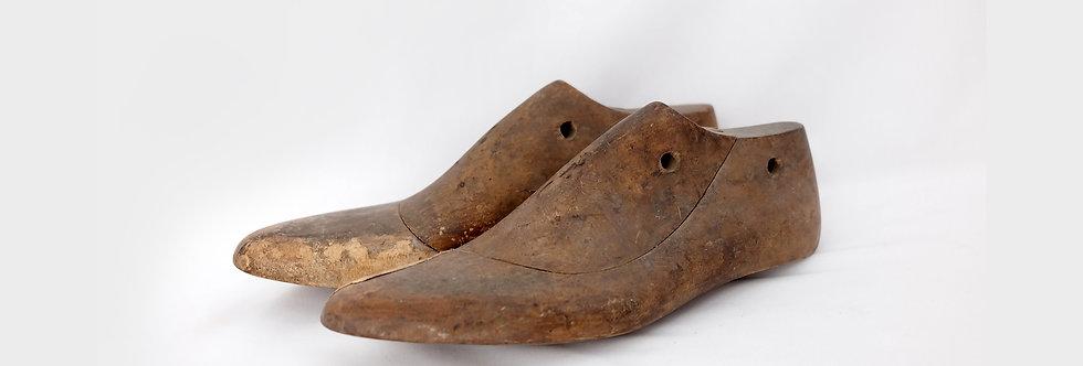 台灣早期木製老鞋模