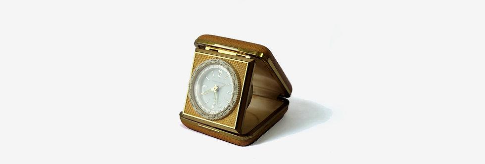 PHINNEY - WALKER 世界時間發條旅行鬧鐘
