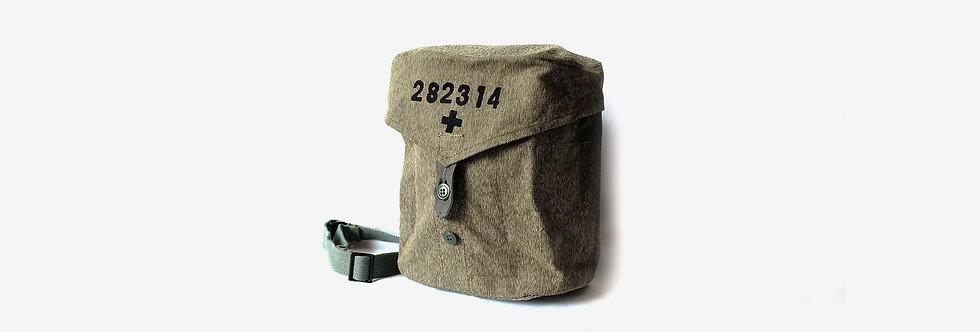 瑞士胡椒鹽軍用面具包 - 大