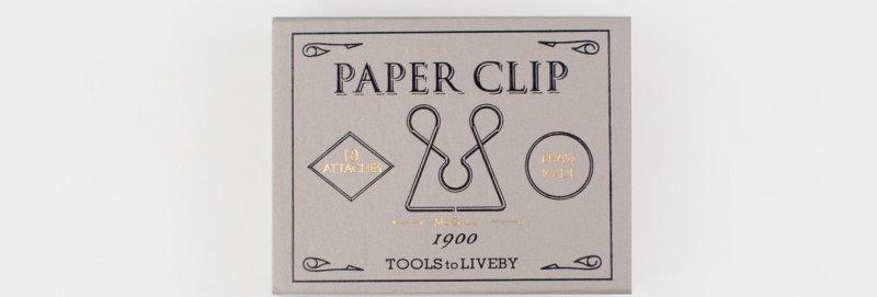 Tools to Liveby 復刻黃銅迴紋針 (Mcgill)